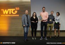 Web trgovac godine 2018